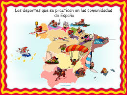 me encanta escribir en español los deportes en las comunidades de
