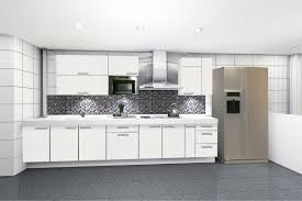 white kitchen designs white ceramic wall tiles on backsplash