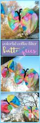 coffee filter butterfly kid u0027s craft coffee filter butterflies