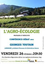 chambre agriculture 26 conférence agro écologie à gap