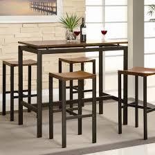 brayden studio swigart 5 piece pub table set u0026 reviews wayfair