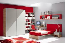 Creative Bedroom Wall Designs For Girls Bedroom Interesting Teenage Girls Room Red And Gray Colors Insight
