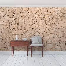 removable wallpaper peel stick temporary wallpaper product picture photo wall mural apulia stone wall old