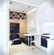 coin bureau petit espace petit espace avec coin bureau salon bibliothèque et cuisine