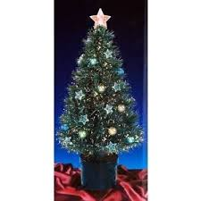 christmas tree lights amazon uk 32 inch green christmas tree with fibre optics and stars and baubles