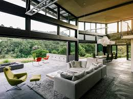 California Ranch House by Stunning Solar Butterfly House Masters Resource Conservation In