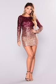 sequin dress sequin dress burgundy gold