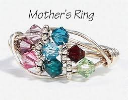 grandmother s ring 8 grandmother s birthstone ring personalized sterling silver