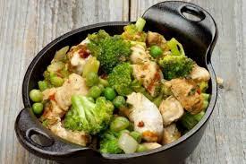 cuisiner aiguillette de poulet recette de aiguillettes de poulet au d épice cocotte de