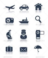 Travel icons set by teneresa graphicriver