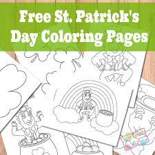 st patrick u0027s day coloring pages itsy bitsy fun