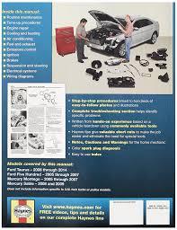 amazon com haynes 36076 ford taurus repair manual automotive