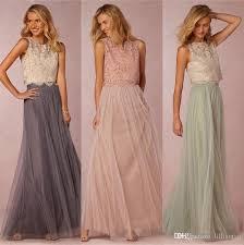 mint lace bridesmaid dresses vintage two pieces lace bridesmaid dresses crop top prom dresses