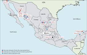 Torreon Mexico Map by Rocky Mountain Spotted Fever In Mexico Past Present And Future