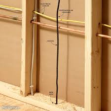 fishing electrical wire through walls family handyman