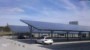 solar panel parking lot lights parking lots get solar canopy makeover understand solar