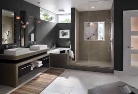 modern small bathroom with white bathtub and glass door shower white bathtub feat shower