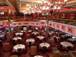 lincoln dining room aboard the carnival valor carnival valor
