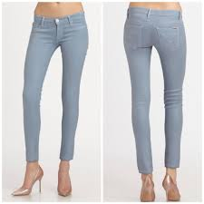 Light Colored Jeans 70 Off Hudson Jeans Denim Hudson Light Blue Coated Krista