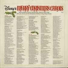 Sié E Social Disneyland Larry Groce Lp Disney S Merry Carols Lp Family