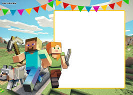 minecraft birthday invitations minecraft birthday invitations minecraft birthday invitations for