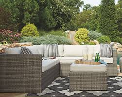 Patio Furniture Chattanooga Outdoor Sofa Sets Ashley Furniture Homestore