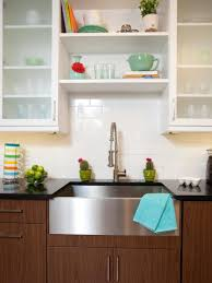 kitchen backsplashes glass door kitchen cabinet metal sink square