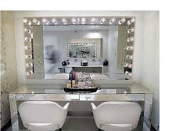 Lighted Vanity Table With Mirror And Bench Vanity Table With Lighted Mirror And Bench Bathroom Faucet And