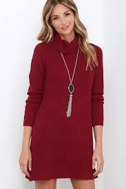 maroon sweater dress wine dress knit dress sweater dress 61 00