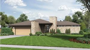 contemporary modern home plans home plan homepw77171 2159 square foot 3 bedroom 2 bathroom