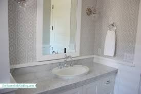 Wallpaper In Bathroom Ideas by Bathroom Bathroom Wallpaper And Wainscoting Airmaxtn