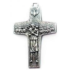 papal crucifix official cross of pope francis 13 16 inch