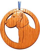 deal on weimaraner ornament
