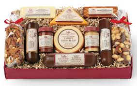 summer sausage gift basket hickory farms gift baskets charitable giving