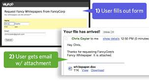 How To Send A Resume Through Email How To Send A Confirmation Email With A File Attachment Using
