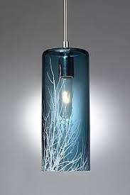 Blue Glass Pendant Light Architecture Blown Glass Pendant Lights Bcktracked Info