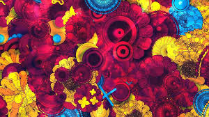 wallpaper 4k color vq58 abstract art red blue yellow color pattern wallpaper