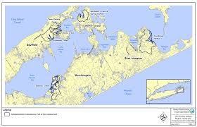 Map Of The Hamptons Priority Issues In The Peconic Estuary U2013 Peconic Estuary