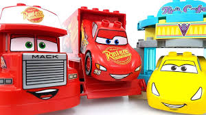 lego mack truck disney pixar cars 3 toys cruz ramirez car wash