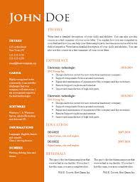 free creative resume cv template 547 to 553 u2013 free cv template
