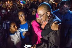 iowa city community district elections newcomer mazahir salih wins iowa city council seat the gazette