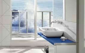 under the sea bathroom decor with window glass under the sea