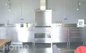 meuble cuisine inox meuble inox meuble du chef en inox cuve droite x mm with