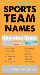 best 25 sports team names ideas on best team