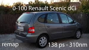 renault scenic 2001 interior 0 100 renault scenic 1 1 9 dci 105 140 reprog youtube