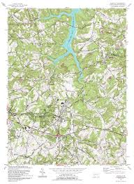 Pennsylvania On The Map by Topographic Maps Of Jeannette Pennsylvania Area