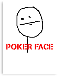 Meme Poker Face - poker face meme canvas prints by 305movingart redbubble