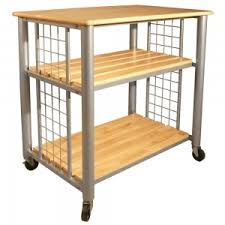 Kitchen Utility Tables - home style danville kitchens with mission style oak wood kitchen
