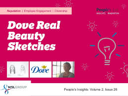 dove real beauty sketches people u0027s insights volume 2 issue 28