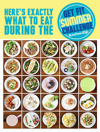 Challenge Buzzfeed 25 Healthy Recipes For Buzzfeed S Get Fit Summer Challenge